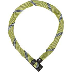 ABUS IvyTex 7210 Candado de Cadena, amarillo/negro